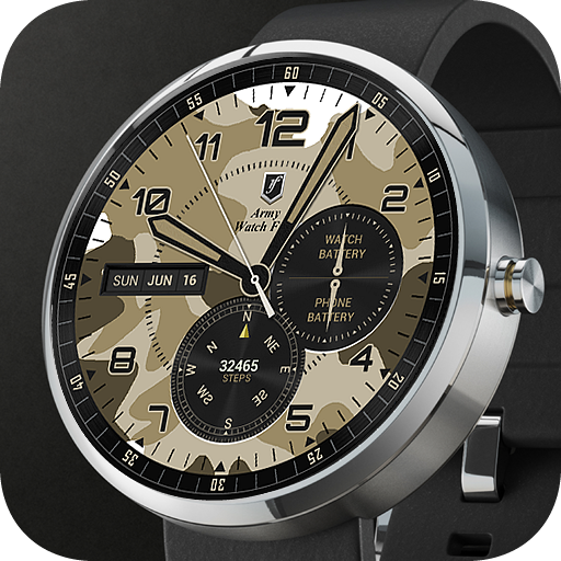 Army Watch Face | Android Wear Center