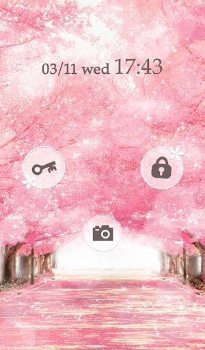 【免費個人化App】可愛換裝桌布★Sakura Avenue-APP點子