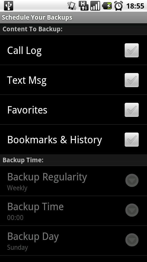 Pi.Soft Backup- screenshot