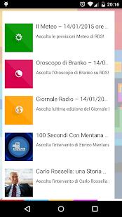 RDS 100% Grandi Successi - screenshot thumbnail