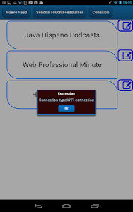 SenchaTouch FeedBurner screenshot 3