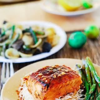 Salmon Rice Asparagus Recipes.