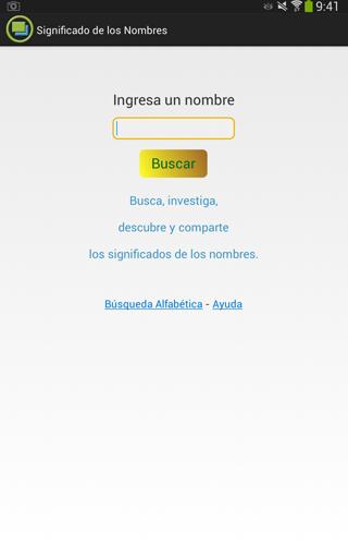 玩社交App|Significados de los nombres免費|APP試玩