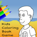 Kids Coloring Book Game logo