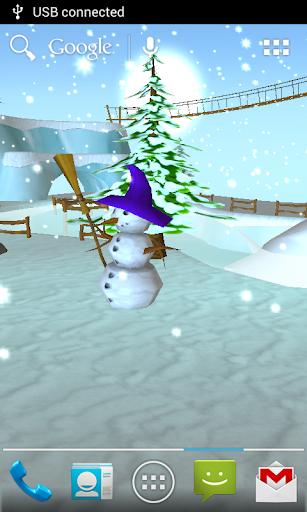 Snow 3D Live Wallpaper