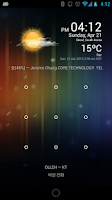 Screenshot of Weather Clock Widget