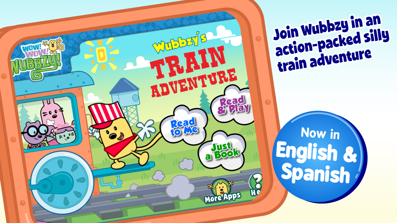 Wubbzy's Train Adventure- screenshot