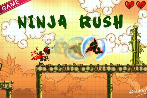 Ninja Rush HD - screenshot