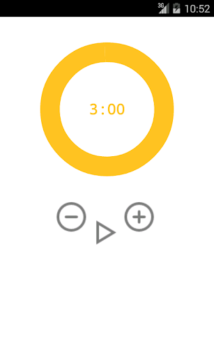 circular ramen timer