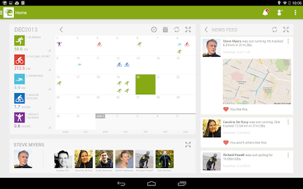 Endomondo Sports Tracker PRO Screenshot 1