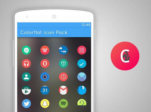 Colorflat Icon Pack