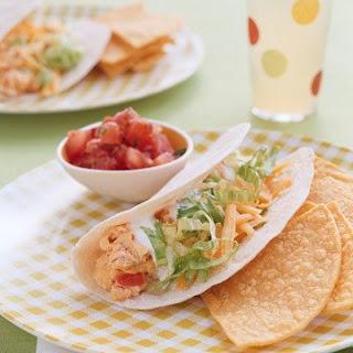 Salsa Egg Tacos.