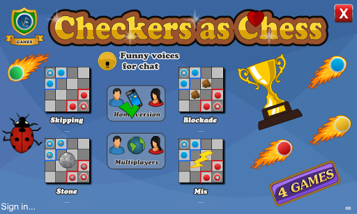 Checkers As Chess