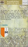 Screenshot of Ejercicios Espirituales