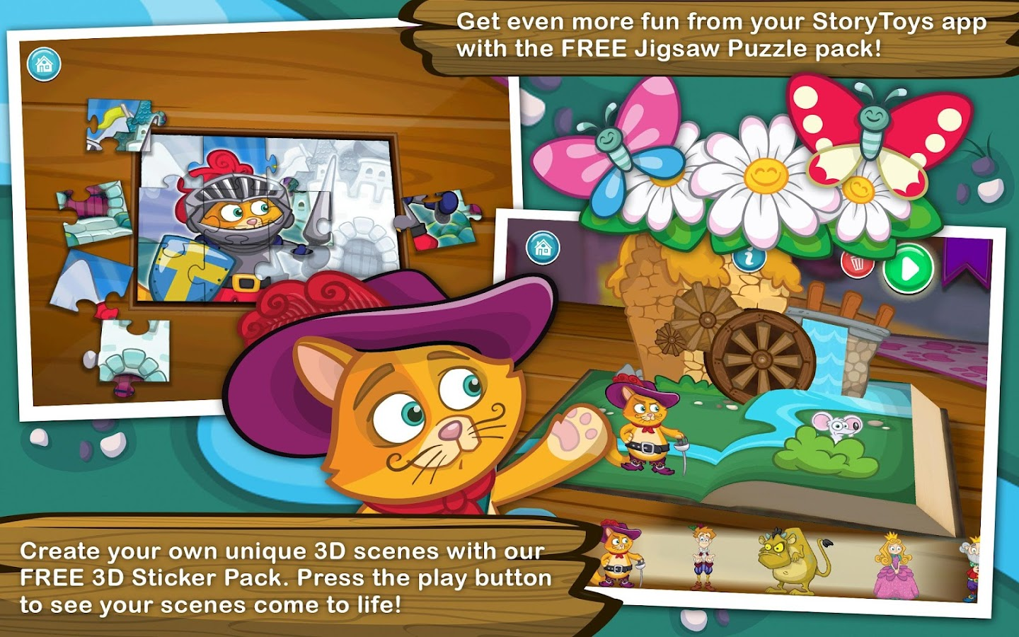 Grimm's Puss in Boots - screenshot
