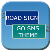 GO SMS Pro Road Sign Theme
