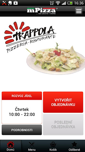 Pizzerie Trappola Teplice