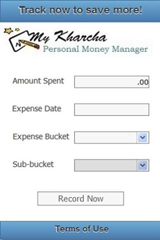 My Kharcha - Expense Tracker - screenshot