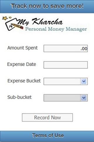 My Kharcha - Expense Tracker - screenshot