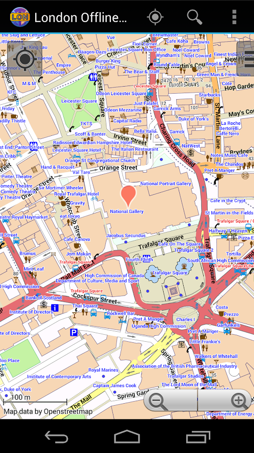 london offline city map android apps on google play. Black Bedroom Furniture Sets. Home Design Ideas
