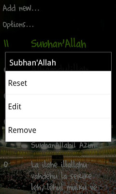 Active Dhikr - screenshot