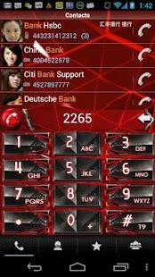 玩免費通訊APP|下載RocketDial Cool Red Theme app不用錢|硬是要APP