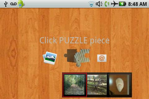 Send Puzzle - screenshot