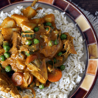 Chicken and Vegetable Korma.