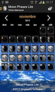 Moon Phases Lite - screenshot thumbnail
