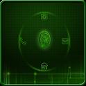 Finger Scanner GoLocker Theme icon