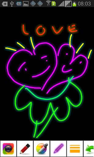 Glow Draw Paint