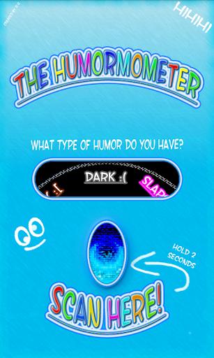 Fingerabdruck Humor Meter