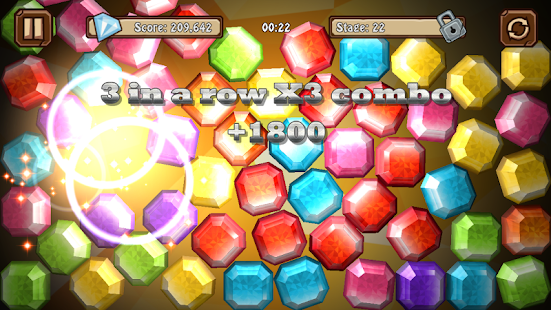 Gem Slash - best Match 3 Physics Puzzle Game Play!- screenshot thumbnail