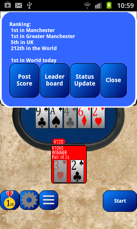 ShootTexas Poker - screenshot