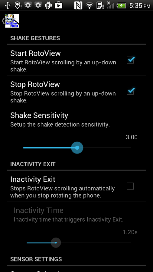 RotoView Photo Viewer- screenshot