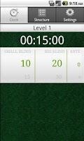 Screenshot of Simple Poker Clock