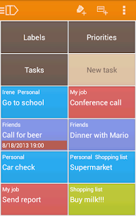 LabelToDo Todo lists and more - screenshot thumbnail