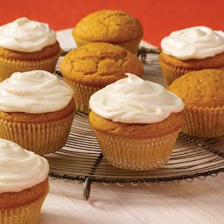 Spiced Pumpkin Cupcakes.