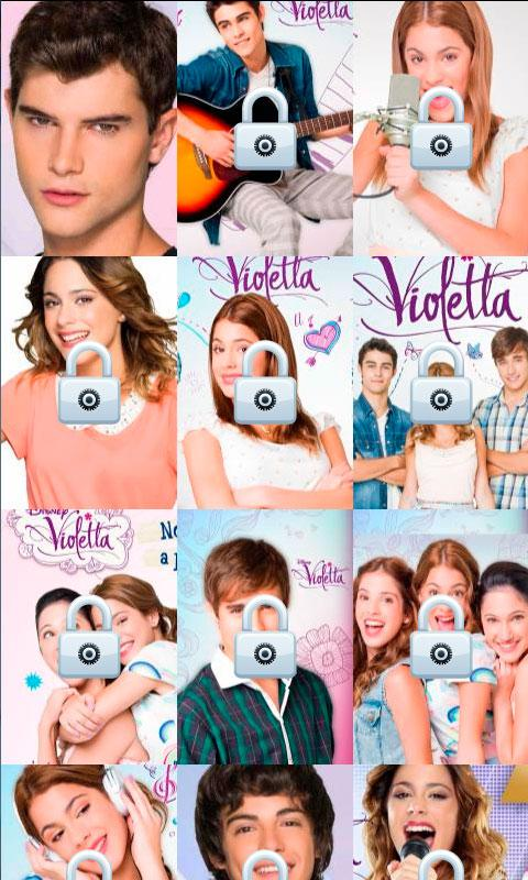 Violetta Puzzle - screenshot