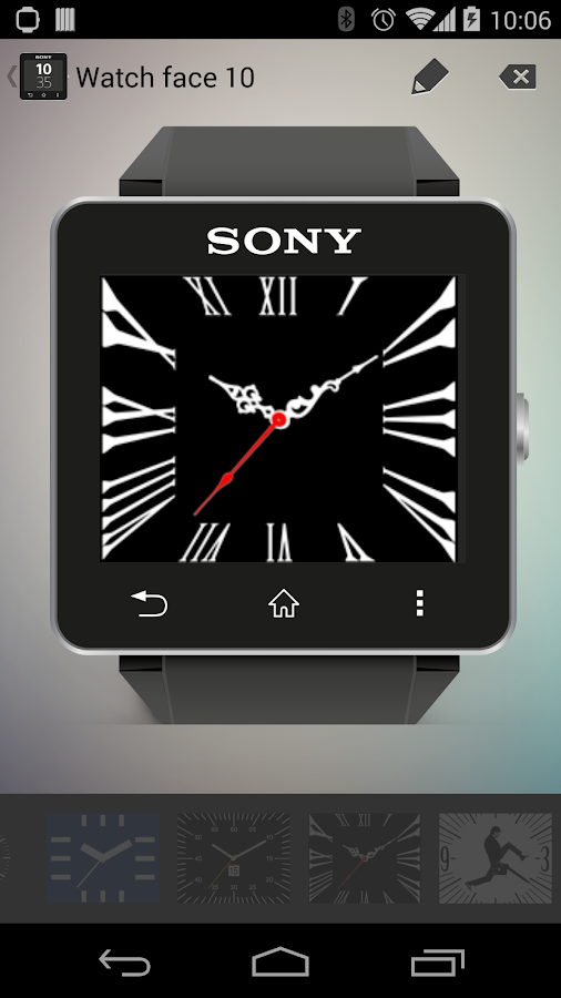 Classic Watchfaces SmartWatch2- screenshot