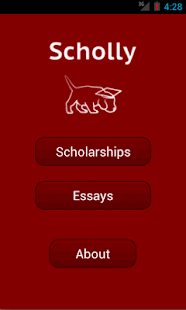 Scholly: Scholarship Search - screenshot thumbnail