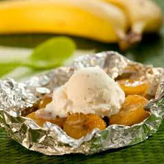 Grilled Bananas Foster.
