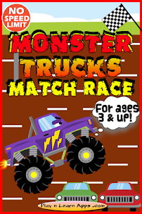 Monster Truck Kids Games