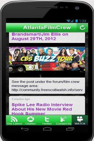 AtlantaFilmCrew Casting/Crew- screenshot