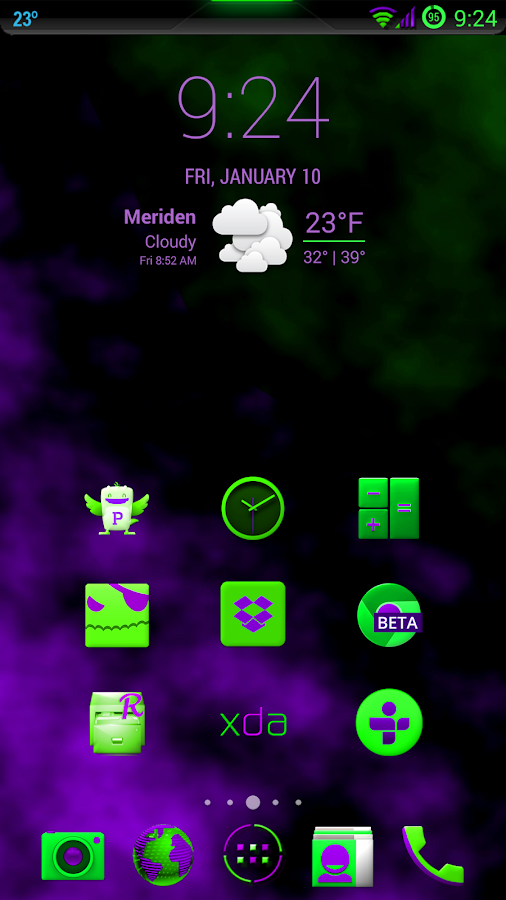 Supernova Theme CM11 (4.4) - screenshot