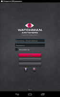 Screenshot of Watchman Anywhere Tank Manager