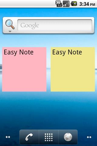 Easy Note- screenshot