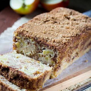 Brown Butter Apple Cinnamon Cake.