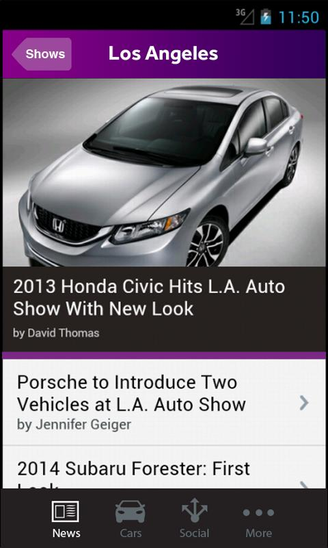 Auto Shows by Cars.com - screenshot