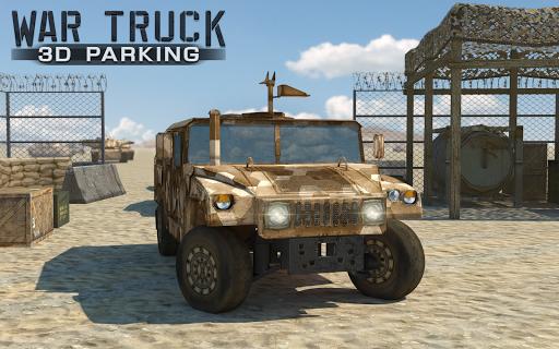 戰爭卡車3D停車 - War Truck Parking